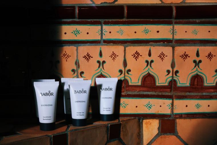 Landhaus Stricker hotel badezimmer babor produkte