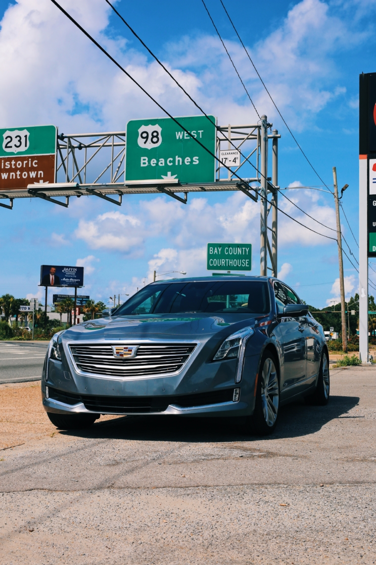 road tour cadillac ct6 usa southern states