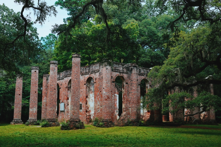 sheldon church ruins south carolina