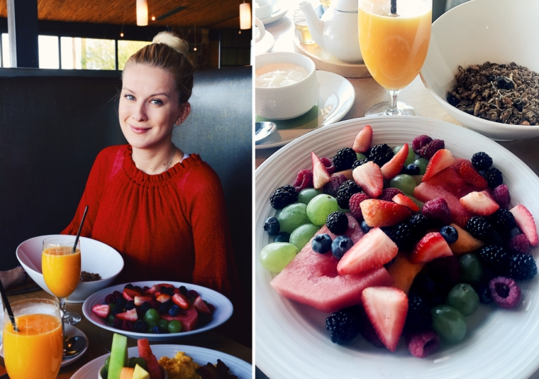 scottsdale Sanctuary Camelback Mountain Resort BREAKFAST