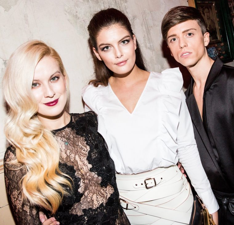 red carper new faces award bunte 2016