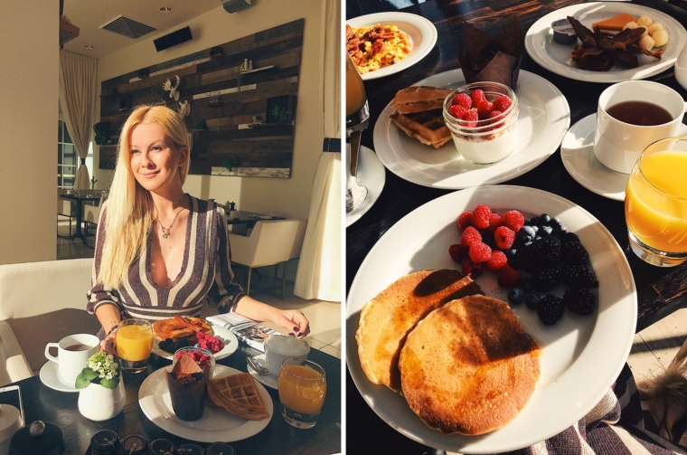 InterContinental Los Angeles Century City BREAKFAST