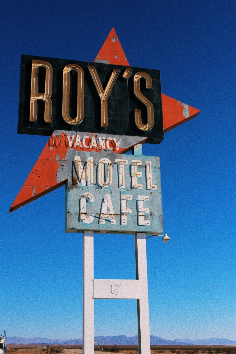 Roy's Motel and Cafe route 66 arizona road trip tour