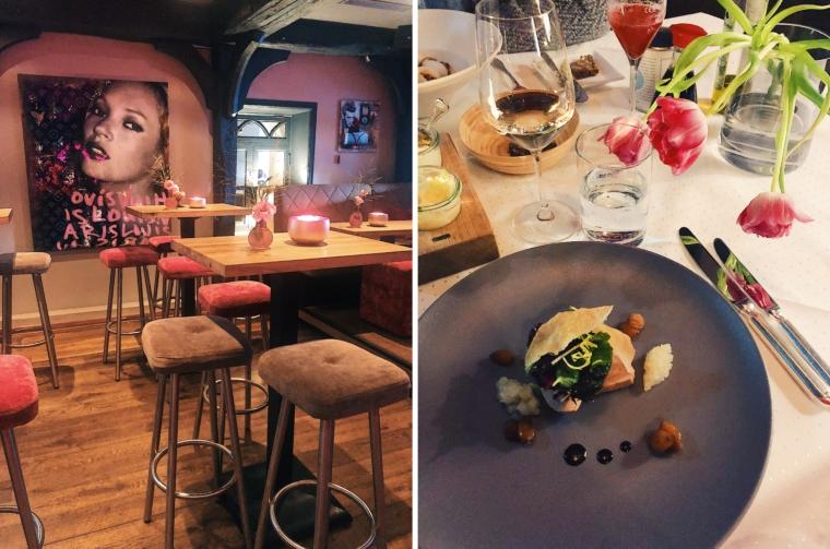 sylt restaurant Siebzehn84 hotel Landhaus Stricker