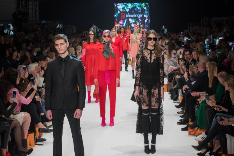 breuninger show ptalfor fashion düsseldorf frühling sommer trends 2018