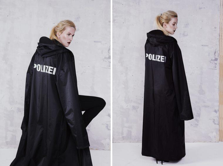 vetements rain coat polizei sale sold out limited edition