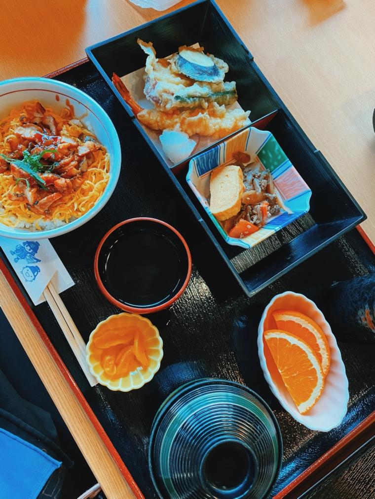 himeji Lunch Anago don Kassuiken