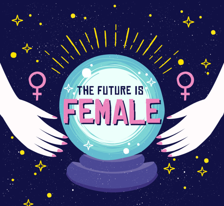 the future is female critical