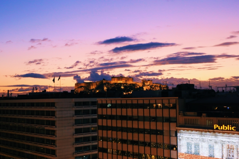 NJV Athens Plaza view acropolis hotel