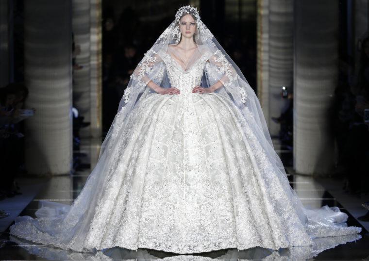 zuhair murad haute couture bride braut ss16 2016