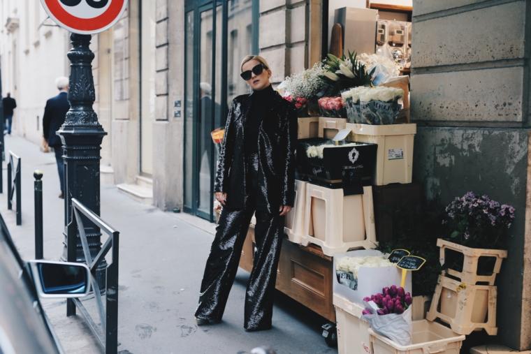 paris fashion week streetstyle valentin yudashkin