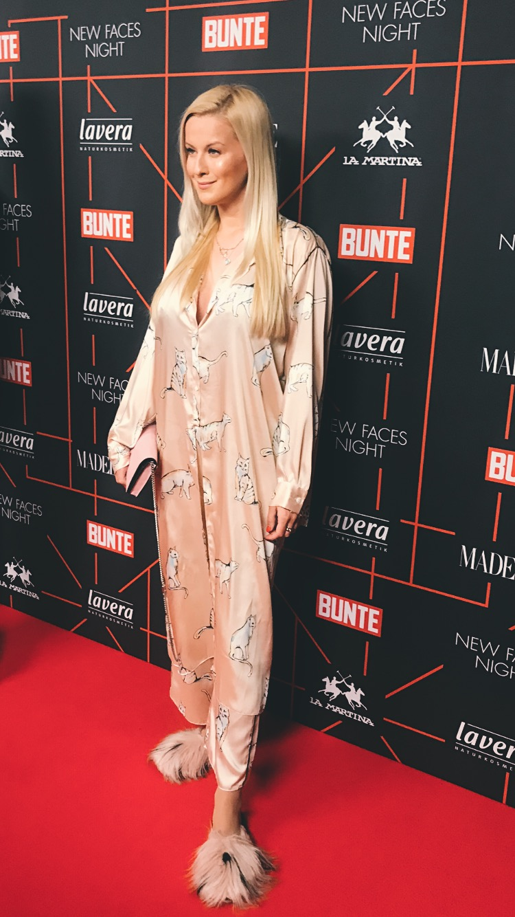 red carpet bunte new faces night berlin fashion week