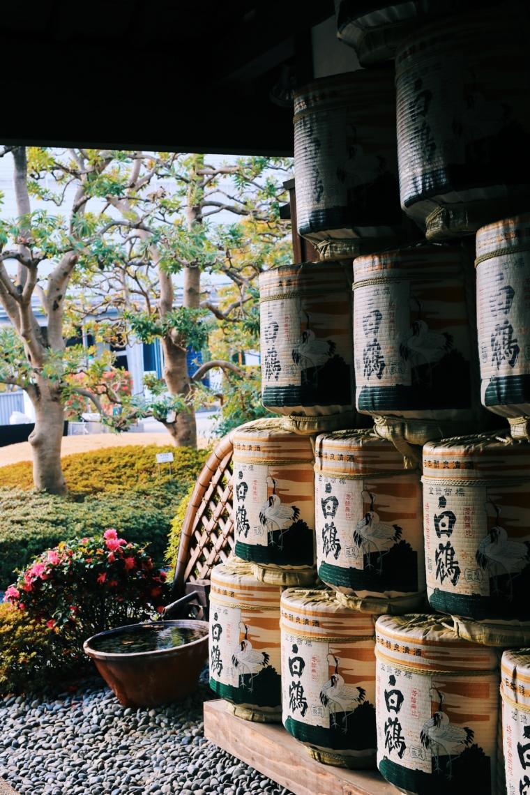 Hakutsuru Sake Brewery Museum kobe