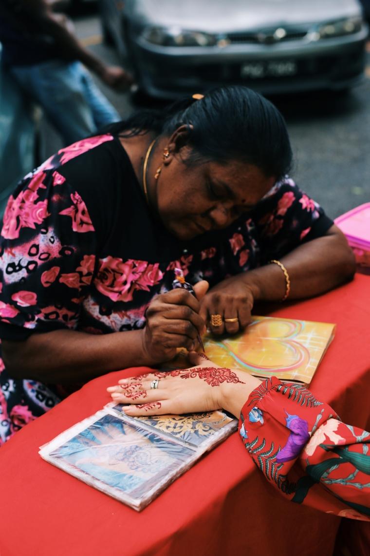 kuala lumpur little india market henna