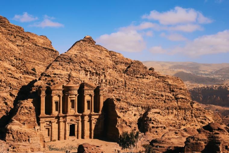 jordan petra monastery