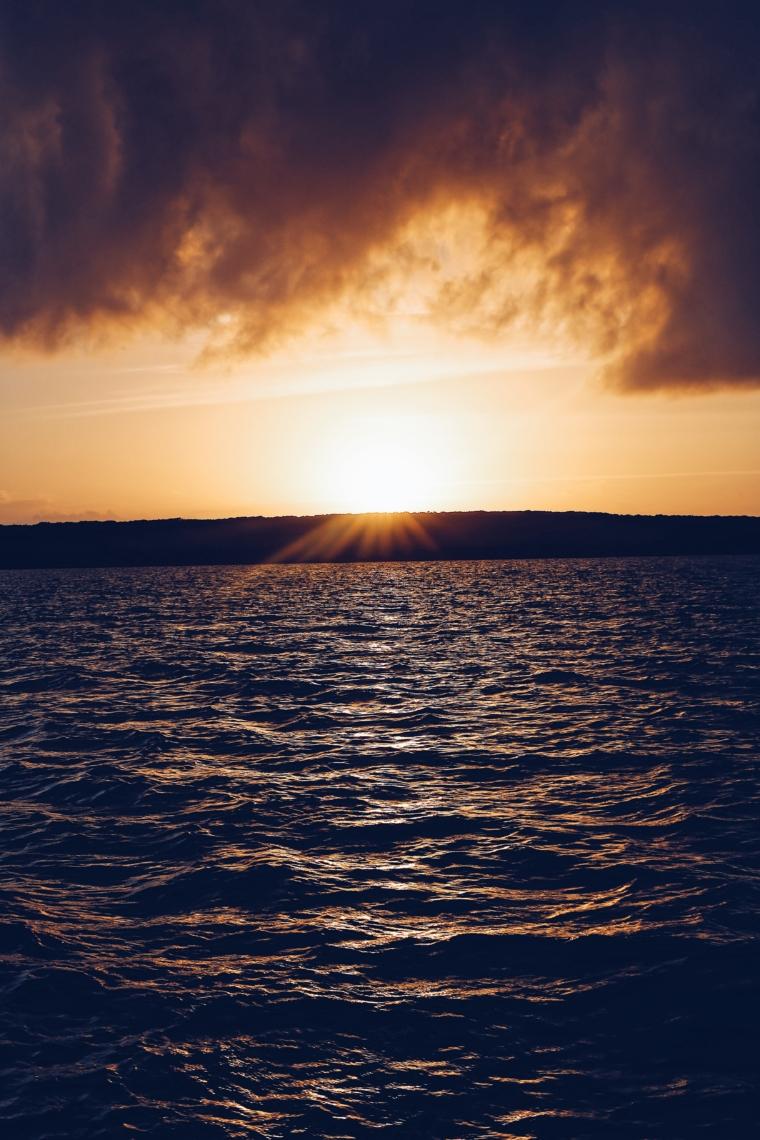 bahamas sun down