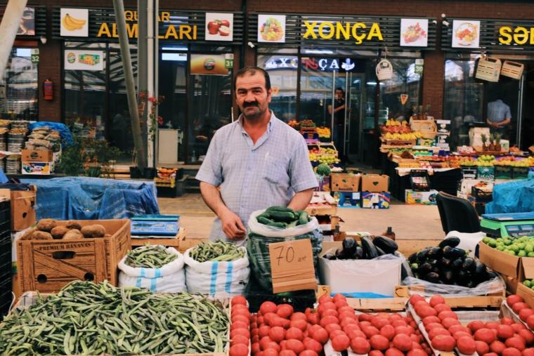 old market baku Azerbaijan