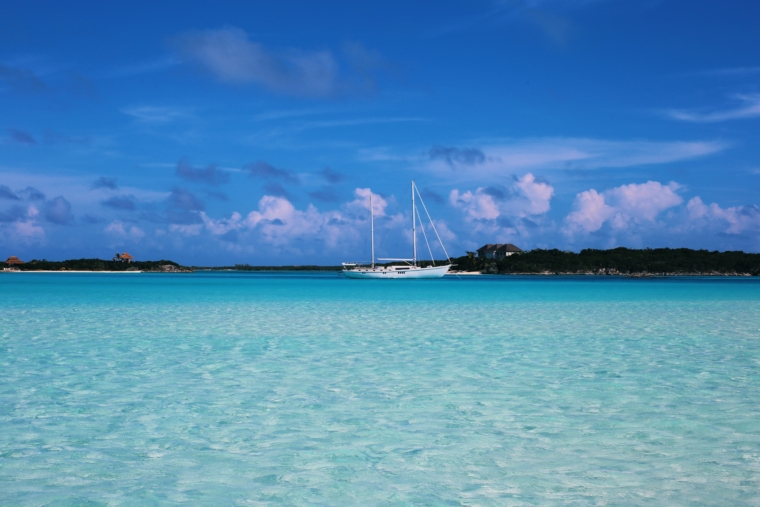 best beach in the world bahamas exuma