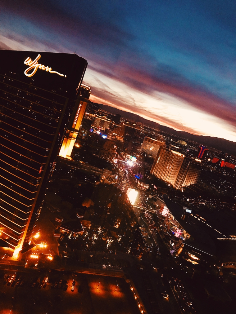 most beautiful sun set las vegas nevada view