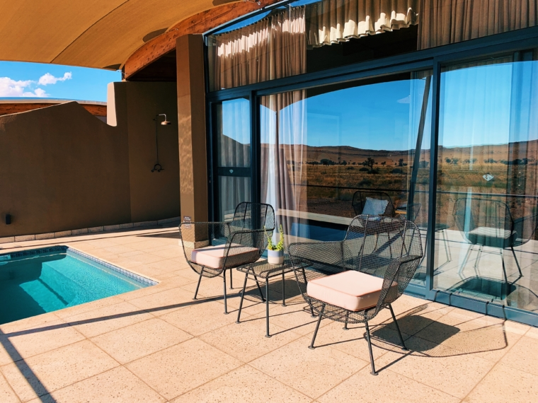 the desert grace lodge gondwana collection namibia pool