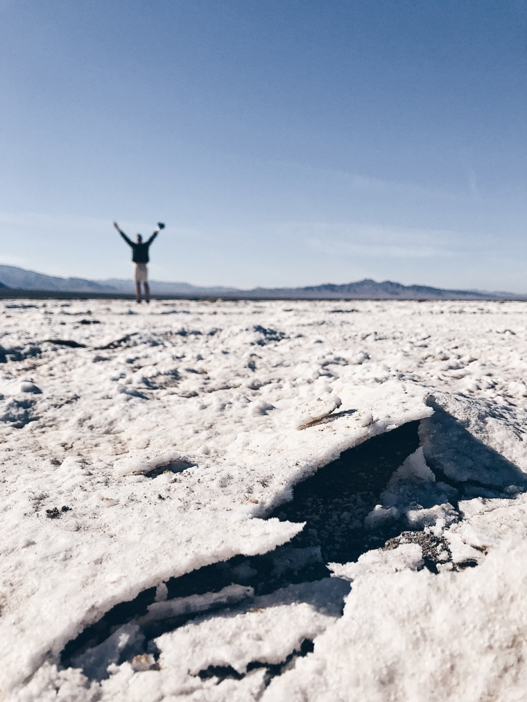 Mojave Desert salt