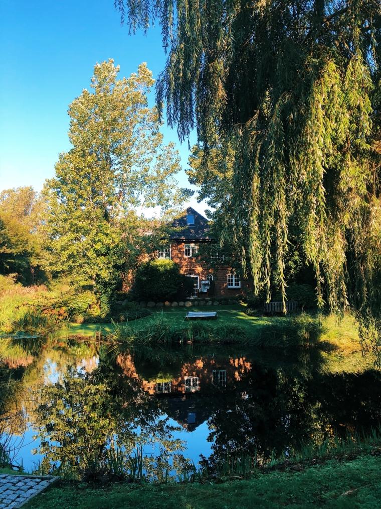 hotel Landhaus Stricker sylt park mit see