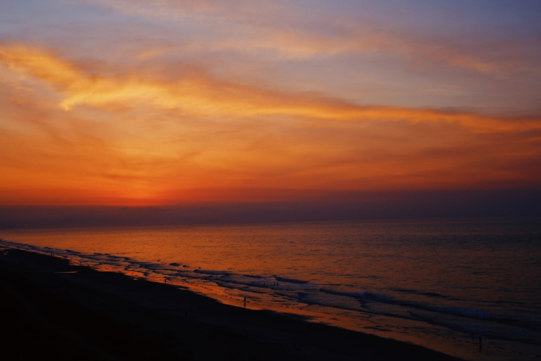 myrtle beach south carolina sunset sundown beach