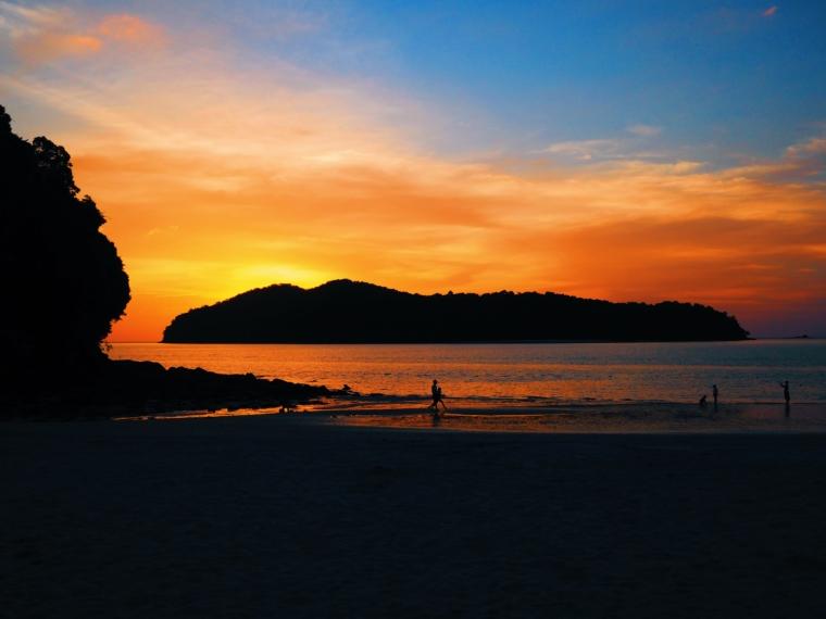 best sunset malaysia langkawi
