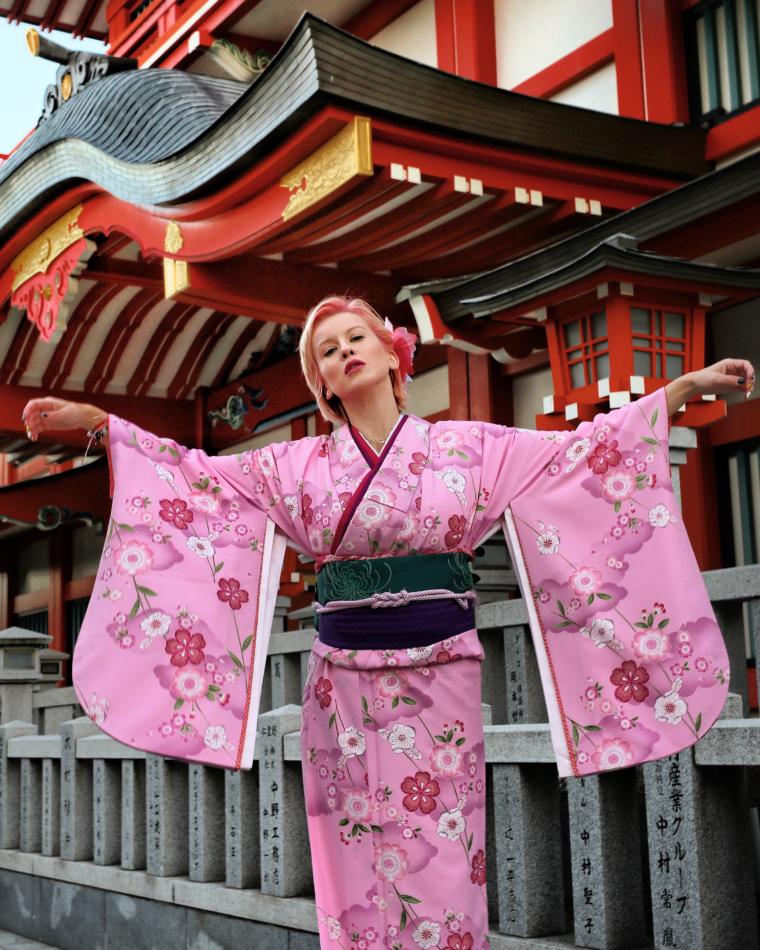 himeji kimono experience rent