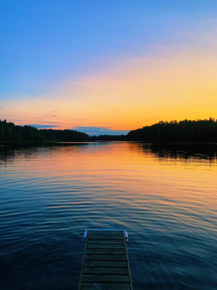 mathildedal finnland sauna lake