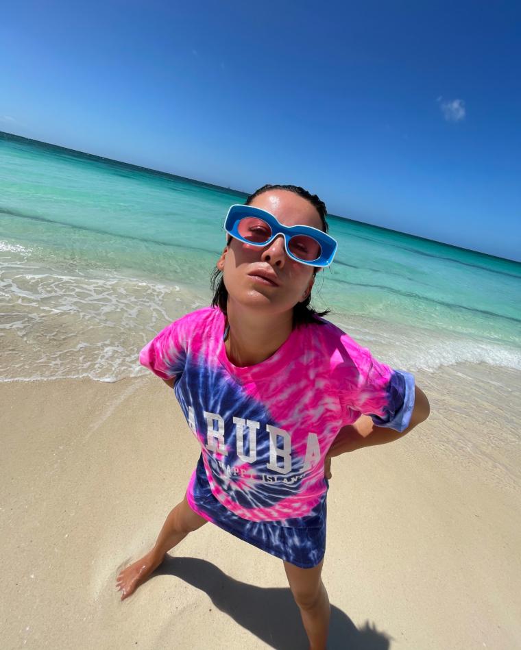 aruba shirt loewe paulas ibiza sunglasses