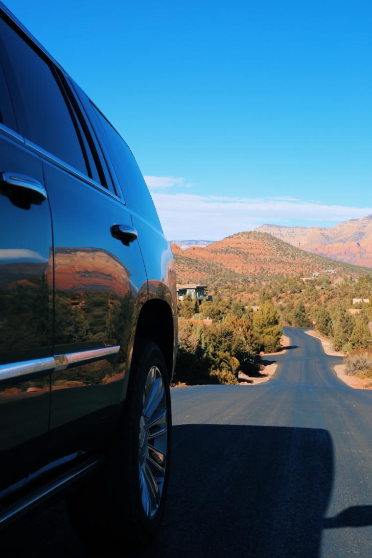 cadillac escalade road trip