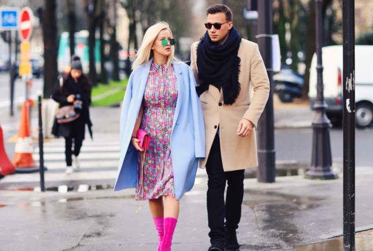 paris fashion week 2018 best streetstyle stylish best dressed couple