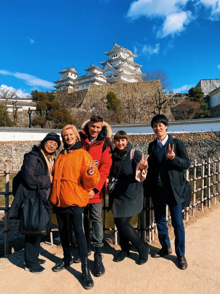 himeji press trip japan