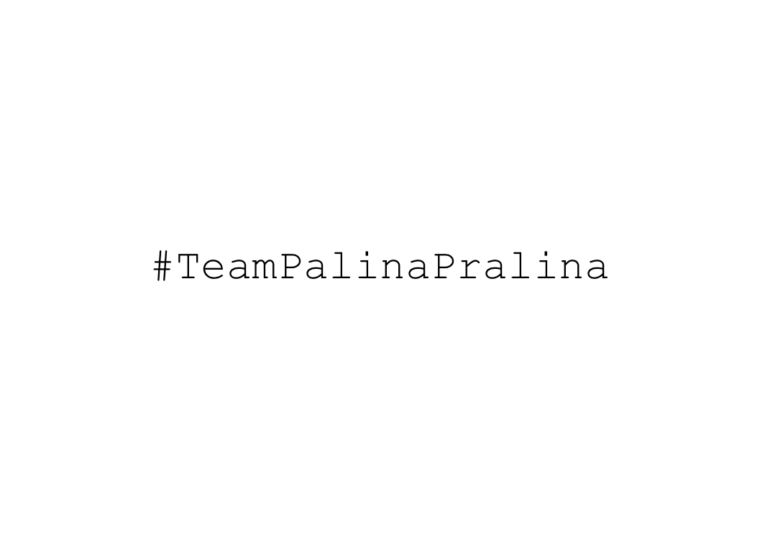 palina pralina tv