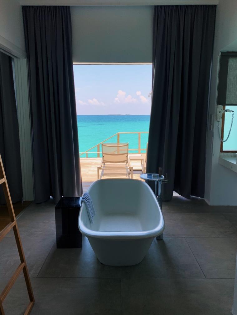 Kuramathi Maldives Delux water villa
