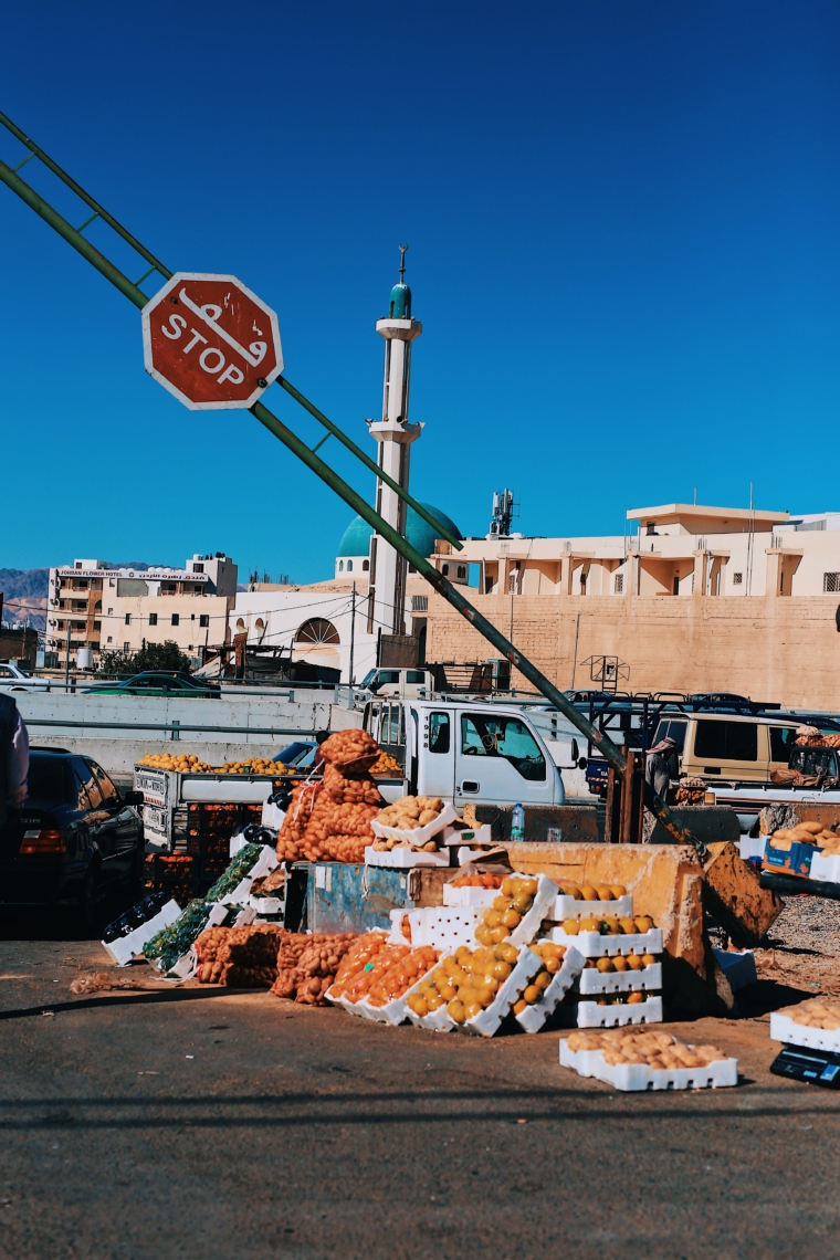 aqaba jordan local market
