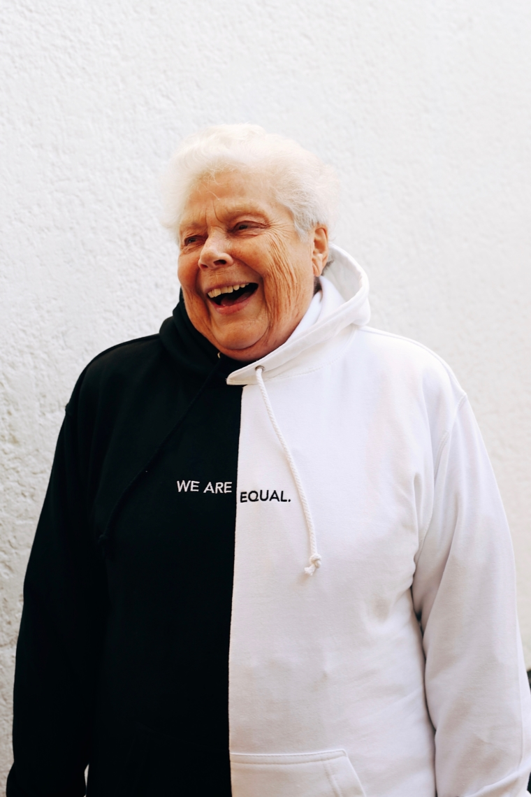 we are equal hoodie sweatshirt palina kozyrava shop