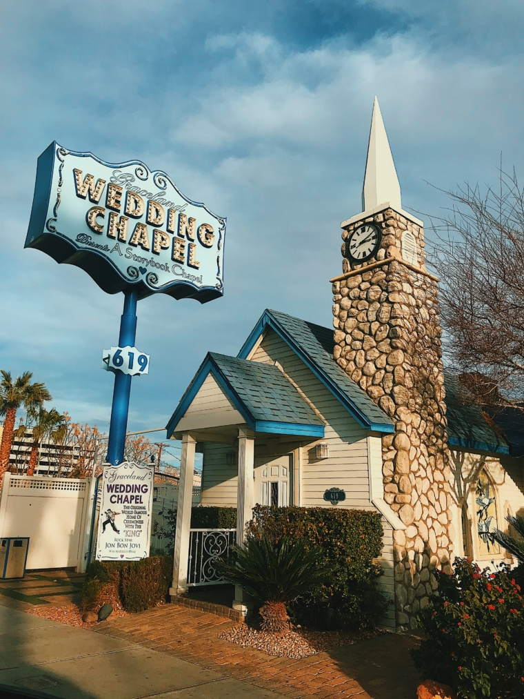 cute wedding chapel las vegas