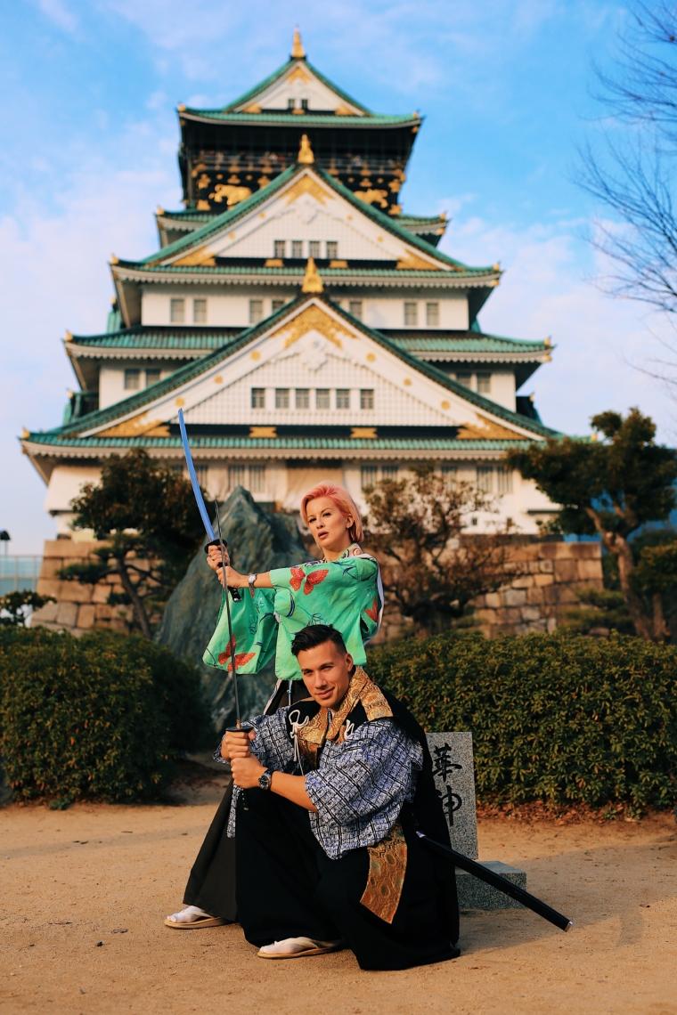 Samurai Experience Osaka Castle