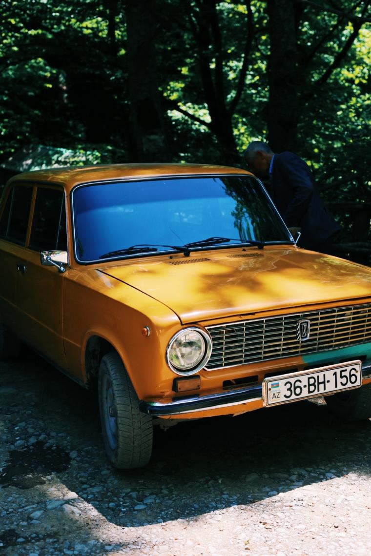 azerbaijan OLD CARS