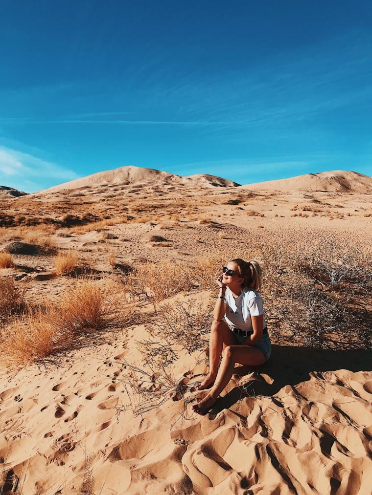 Mojave Desert sand dunes