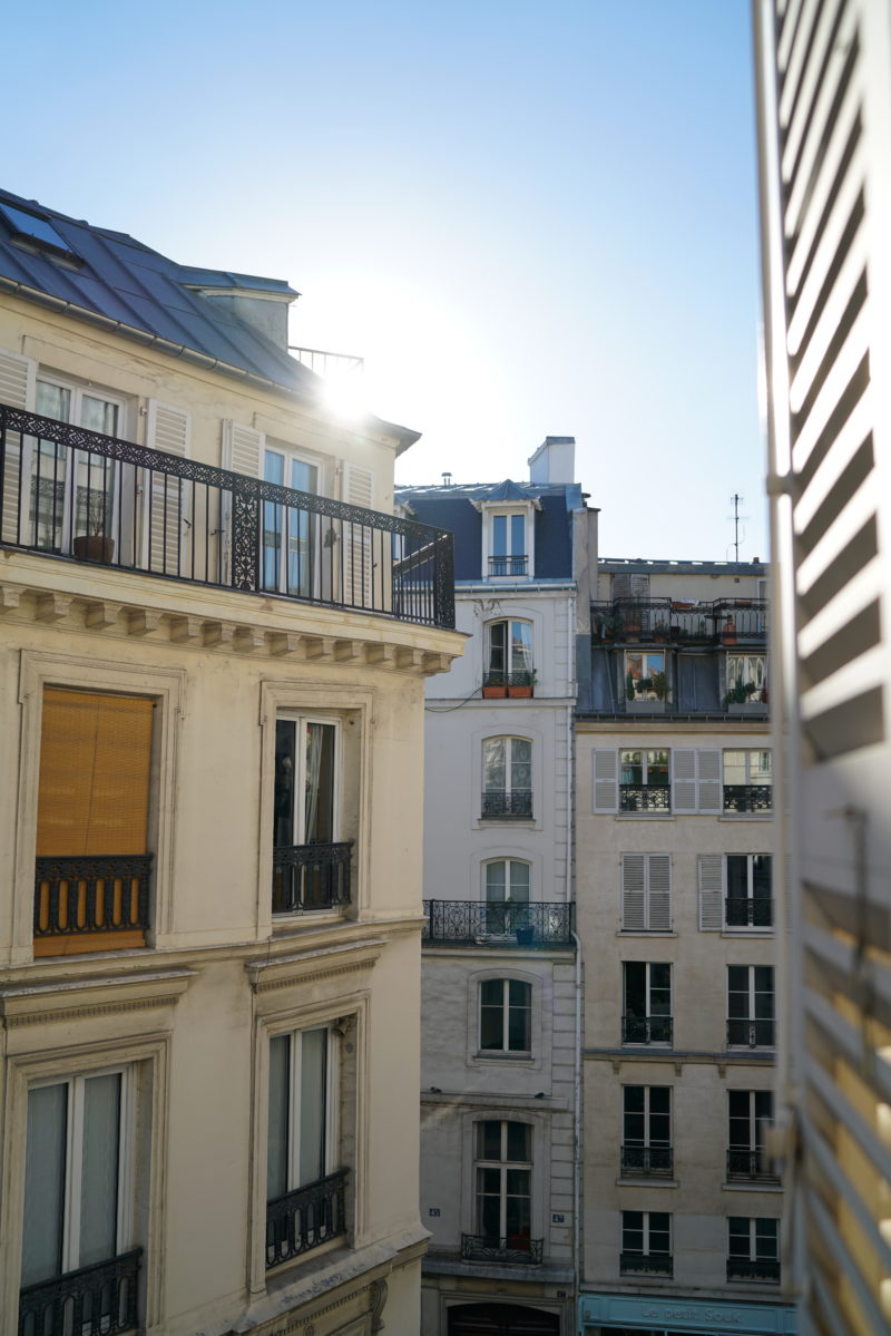 paris, roof tops, ausblick