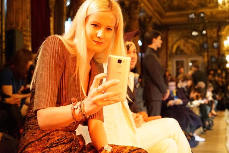 Paris Fashion Week Front Row honor 7