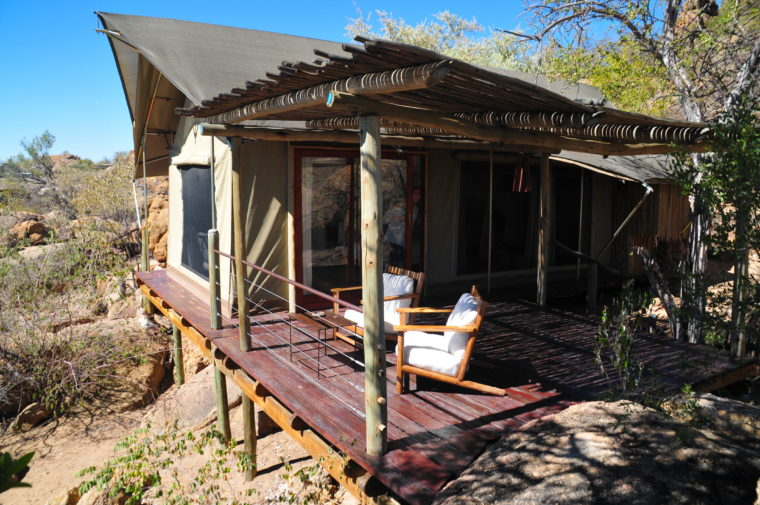 LUXURY TENT LODGE DAMARALAND ERONGO