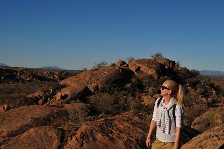 WANDERN IN DAMARALAND ERONGO PARADIES