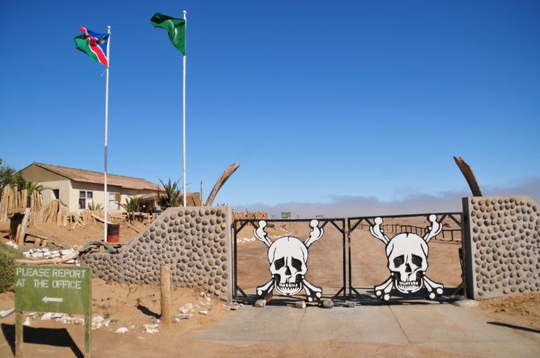 SKELETON COAST MAIN GATE