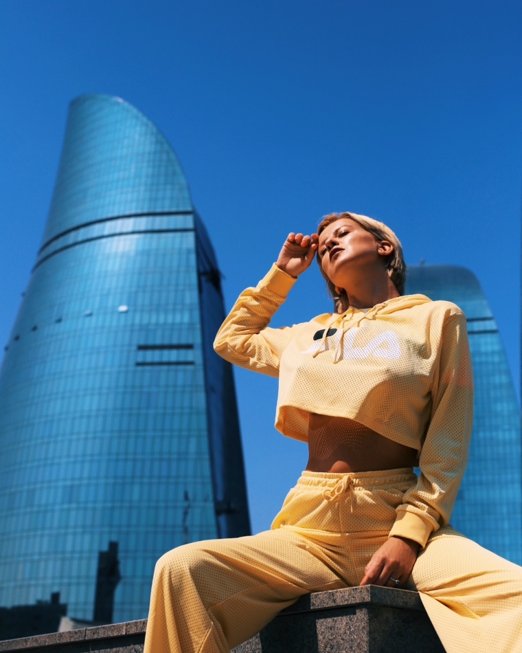 Baku Azerbaijan best instagram spots flame towers