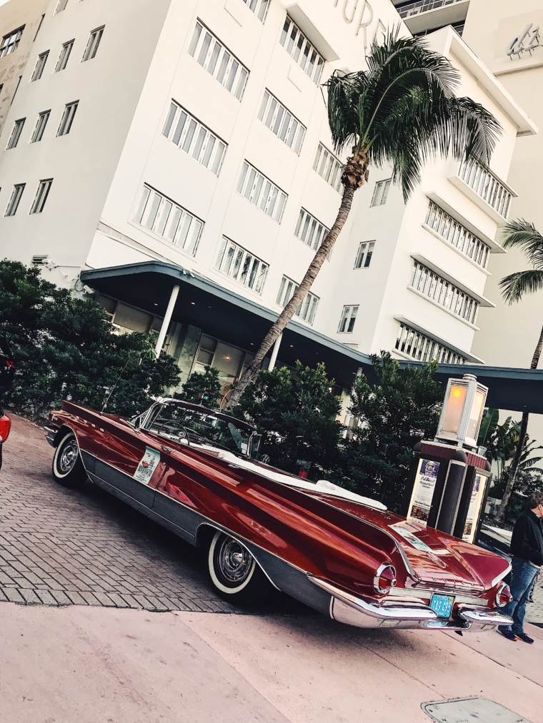 miami beach old timer car