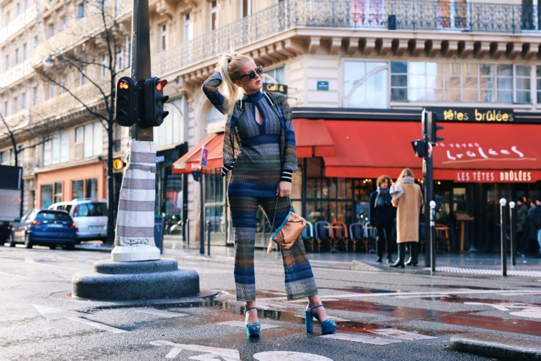 Arise your Senses ana alcazar paris fashion week streetstyle palina kozyrava